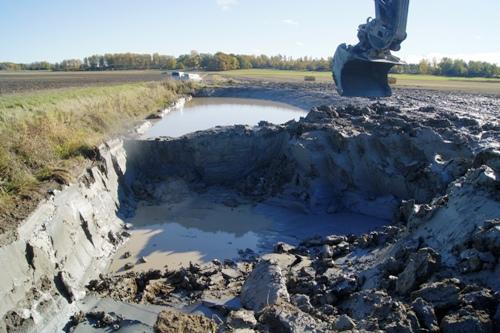 Brunnby grävning